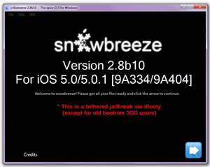 apple, iphone, ipad, ios, jailbreak, sn0wbreeze, redsn0w