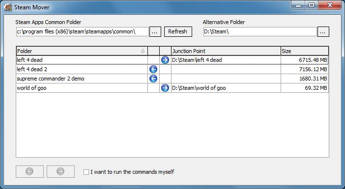 تحميل برنامج Steam Mover