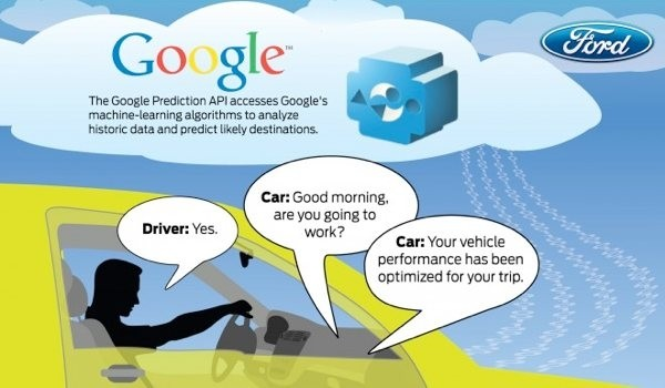 ford google team smarter cars