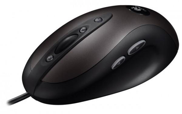 logitech introduces optical gaming mouse g400