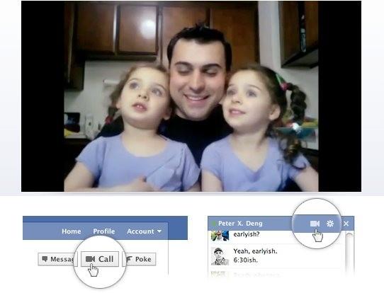 facebook skype