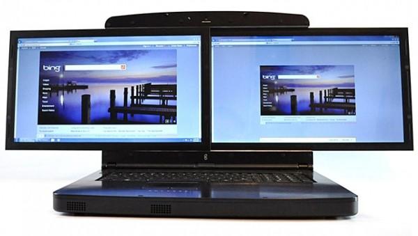 spacebook dual-screen laptop