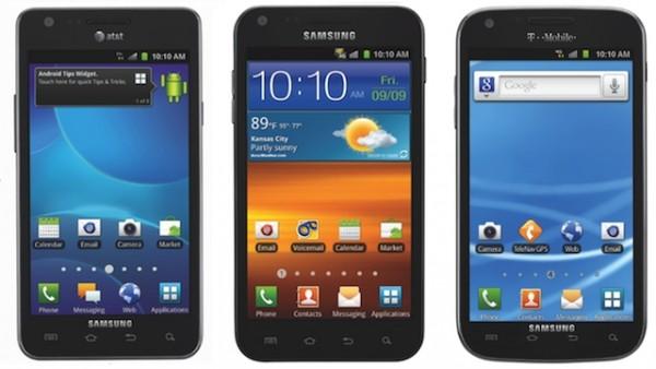 galaxy t-mobile sprint smartphone att galaxy s ii