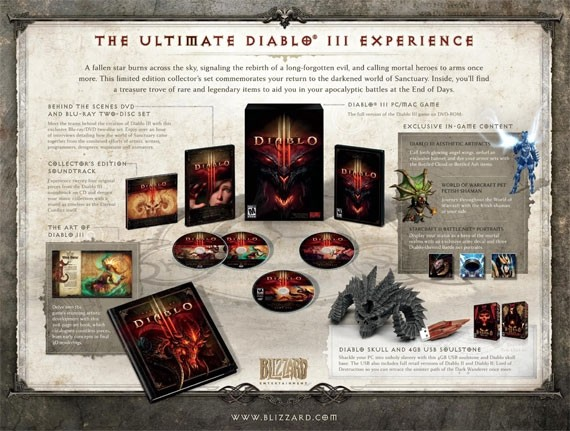 diablo iii collector edition wow diablo iii world of warcraft annual pass