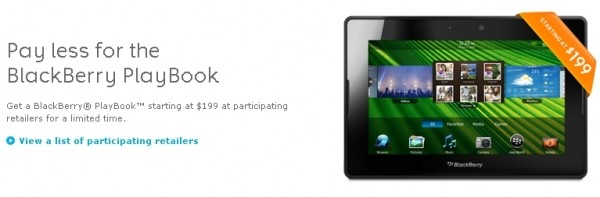 rim playbook tablet holidays