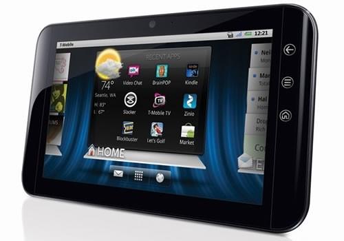 dell android streak tablet us market