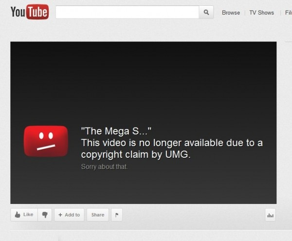 megaupload universal sopa lawsuit