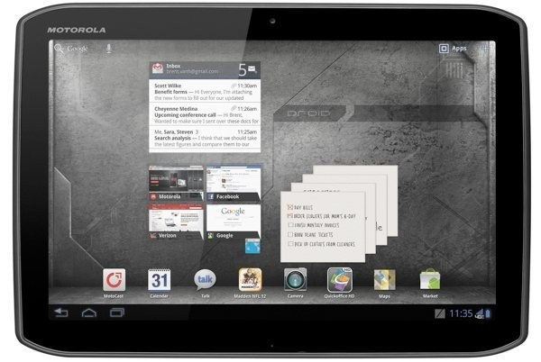 motorola droid xyboard android tablet review