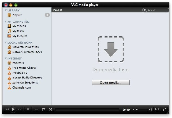 vlc blu-ray itunes quicktime media player videolan video player