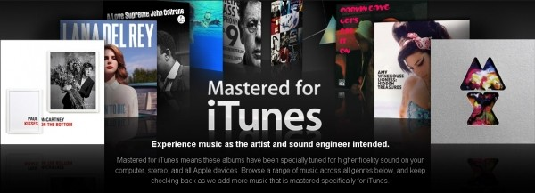 apple mastered itunes mastered for itunes