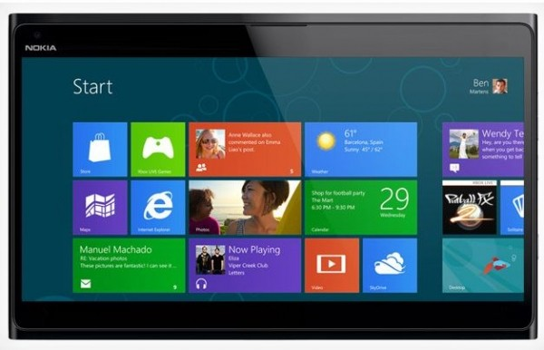 windows nokia microsoft arm tablet windows 8 windows 8 tablet q4 2012 nokia tablet dual core qualcomm snapdragon rumors