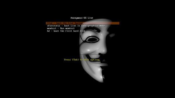 anonymous live linux linux operating system hacktivists anonymous os live linux distribution ubuntu-based sourceforge