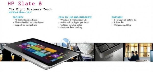 leaked ipad-sized windows tablet windows 8 hp