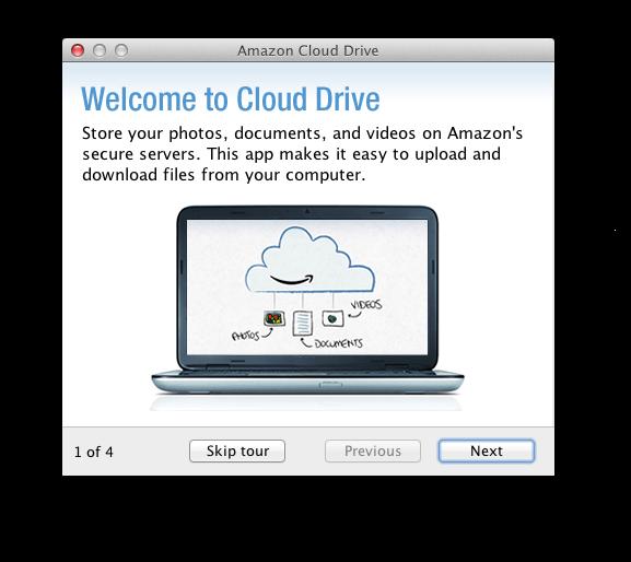 amazon cloud drive mac windows