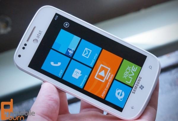 samsung focus samsung att smartphone windows phone ctia