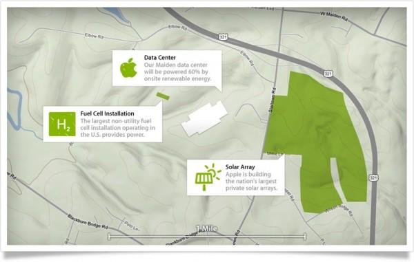 apple data centers powered renewable energy
