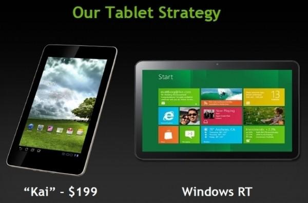 nvidia kai kai platform quad-core tablet