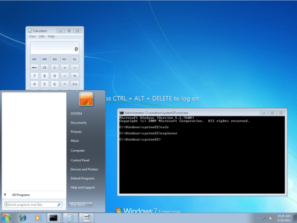 exploit windows command prompt hacking windows 7 login screen exploit sticky keys