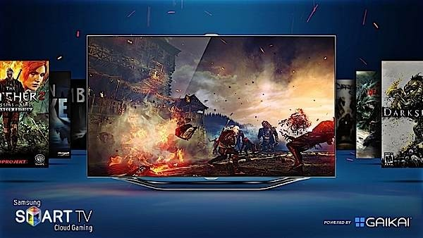 gaikai-powered samsung smart tvs gaikai cloud gaming samsung smart tv samsung cloud gaming scg