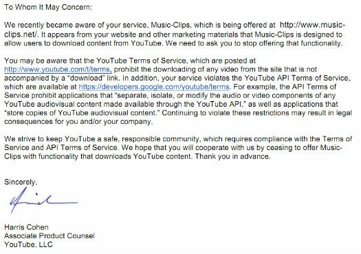 google threatens sue huge youtube mp3 conversion site google youtube mp3 coversion site