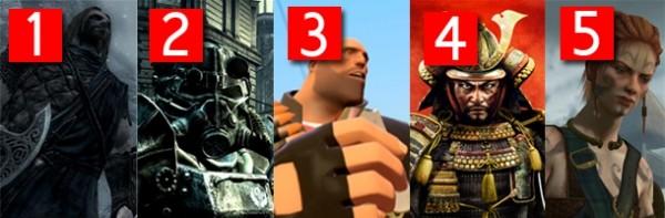 gamer pc gamer poll gaming franchises