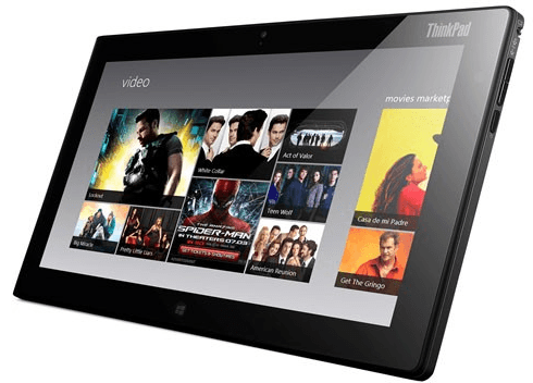 lenovo announces windows thinkpad tablet
