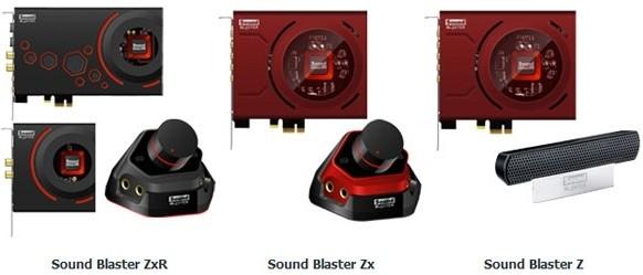 creative sound blaster