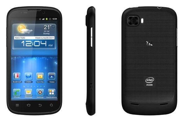 zte grand intel smartphone ifa ics android 4.0 intel atom z2460 zte intel medfield ifa 2012 zte grand x in
