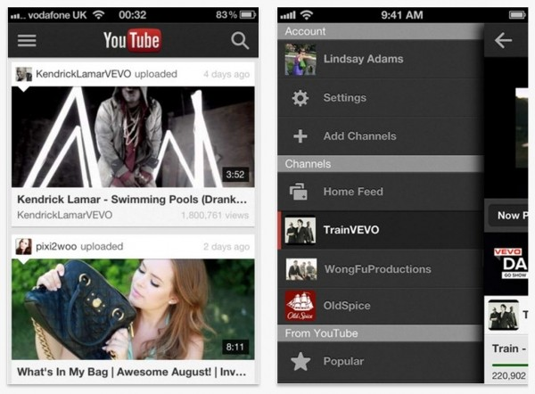 google youtube iphone apple ipad ios ipod touch iphone 5 ios 6 youtube app