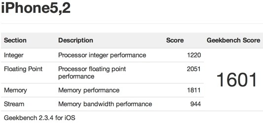iphone geekbench ipad android apple iphone 5 a6