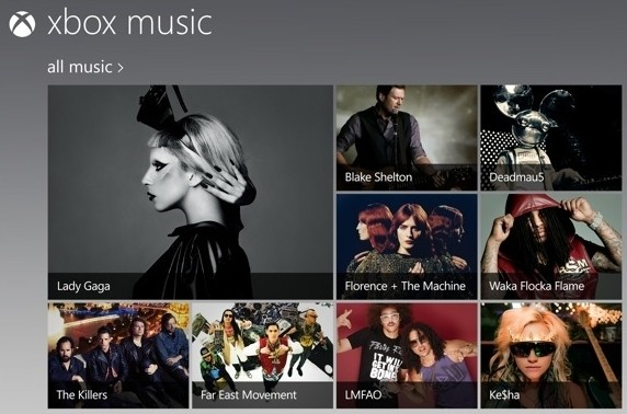 xbox music xbox oct wp8 microsoft music tablet