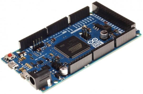 meet arduino due 32-bit project board