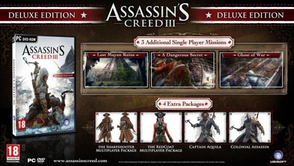 assassin creed iii ubisoft assassins creed 3