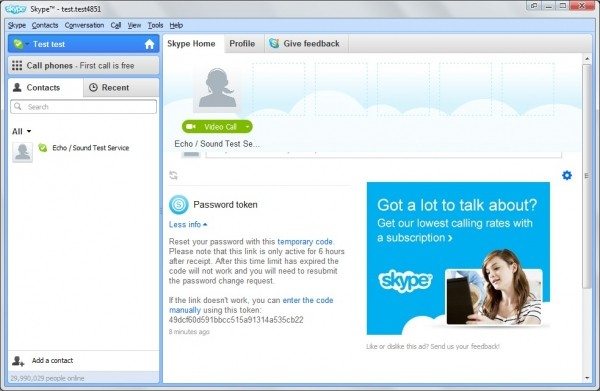 security skype