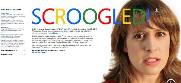 microsoft google scroogle