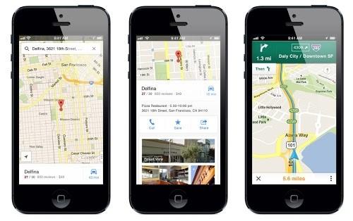 google maps ios downloads