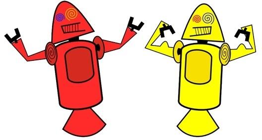 googler shows vintage android mascot google android logo mascot