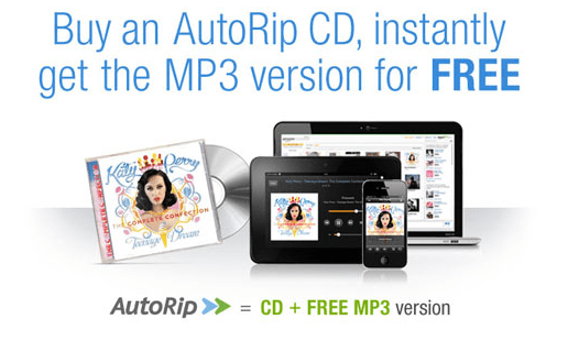 amazon cds autorip music cloud player