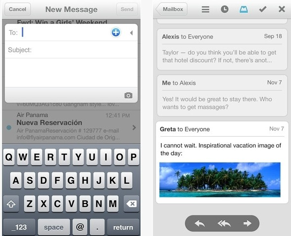 mailbox email app hits ios begins invite- rollout ios mailbox email app invite only