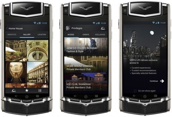vertu luxury android smartphone costs android smartphone luxury phone