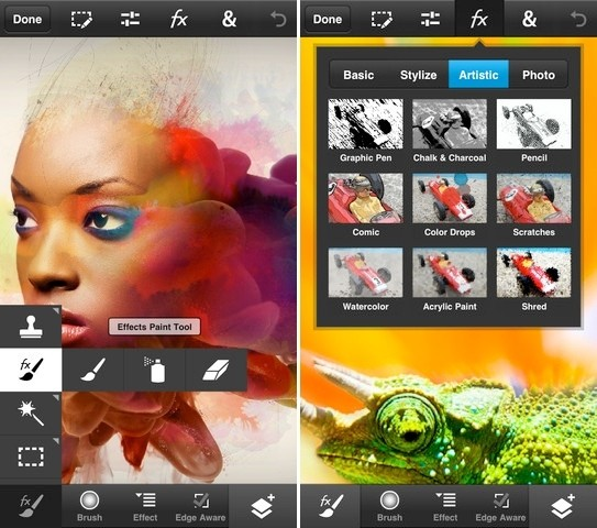 adobe photoshop touch iphone android