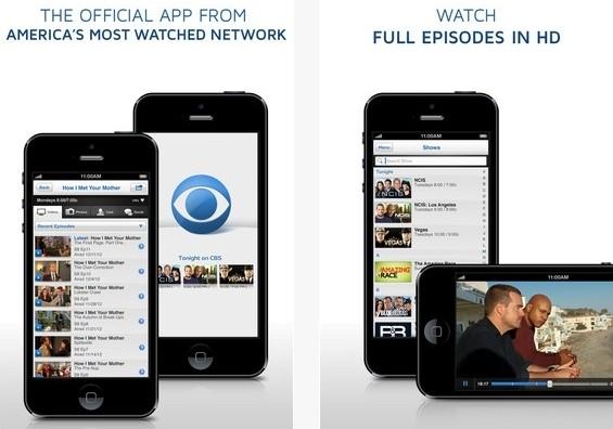 cbs ipad iphone ipod ipod touch streaming