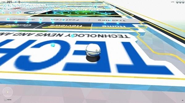 turn google chrome world wide maze