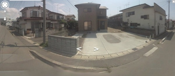 google street view japan fukushima google street view nuclear zone