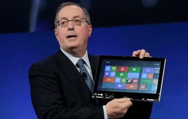 intel ceo windows intel windows 8 multitouch paul otellini