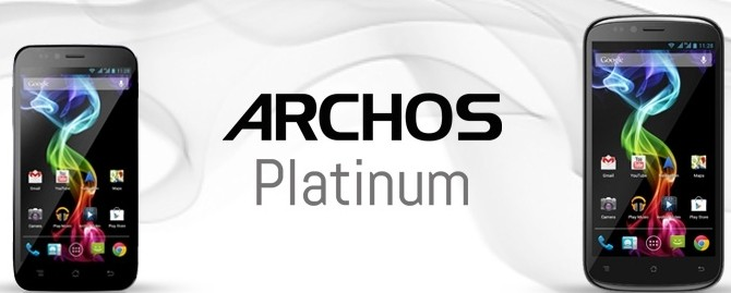 archos unveils android-based smartphone phablets smartphone archos phablet