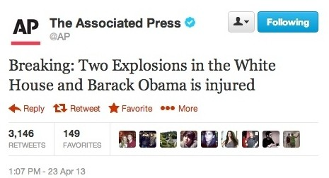 twitter white house hacking ap associated press