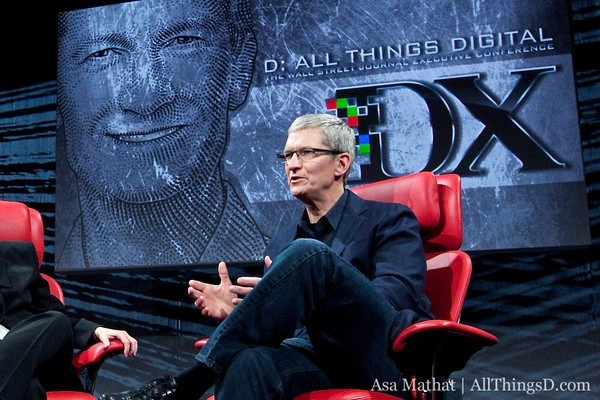 apple ceo tim cook d11 apple tim cook all things d d11 conference