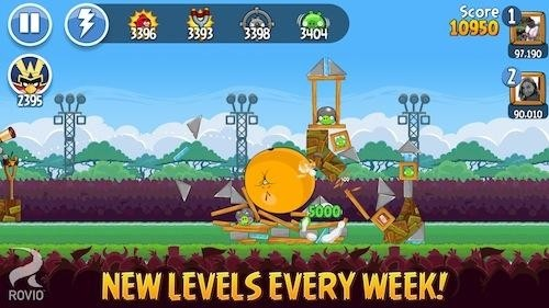 angry birds friends android ios angry birds