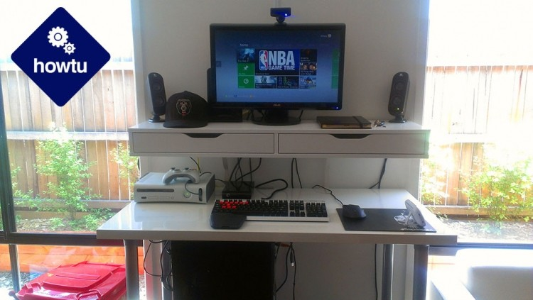 how to, pc gaming, kotaku, standing desk